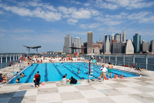 Piscina flotante Brooklyn