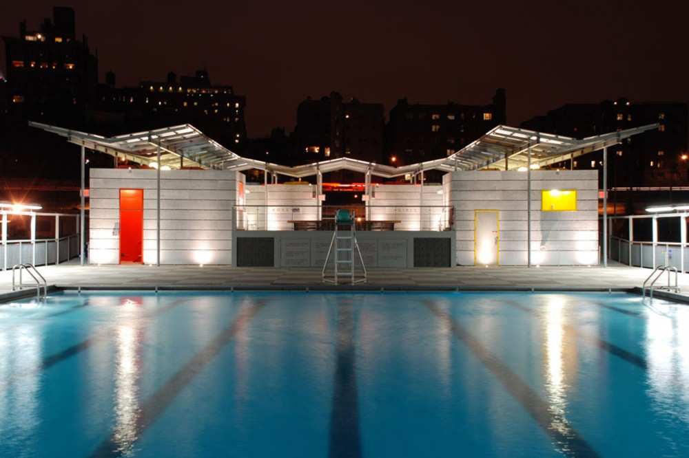 Piscina floante Brooklyn