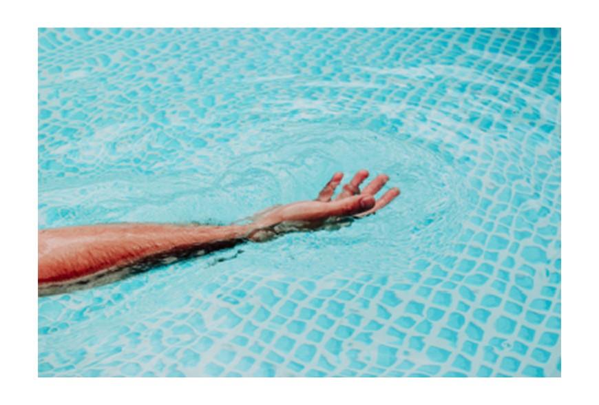 Técnicas de relajación en la piscina
